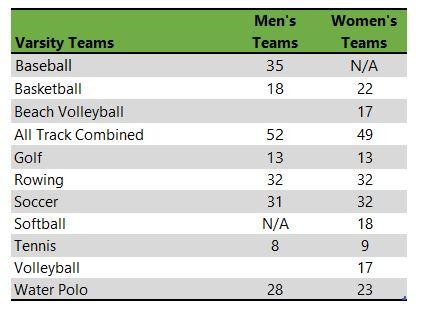 Santa Clara University athletic teams