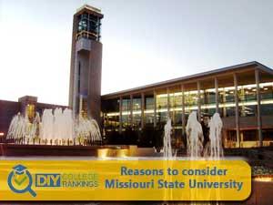 Missouri State University college campus