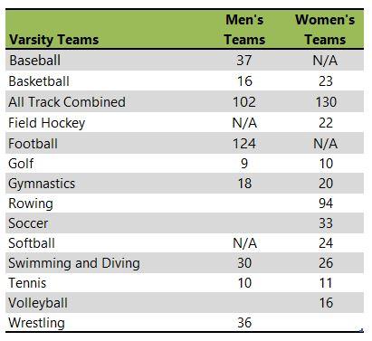 University of Iowa athletic teams