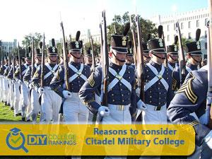 Citadel Military College of South Carolina campus