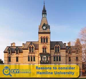 Hamline University campus