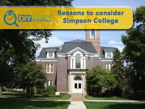 Simpson College campus