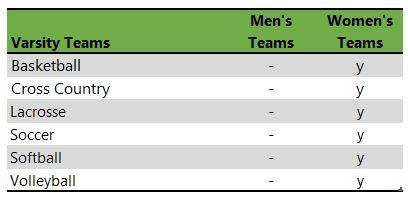 Bay Path University athletic teams
