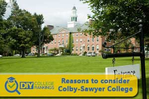 Colby-Sawyer College campus profile