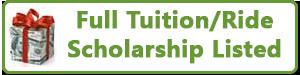 Full ride scholarship available