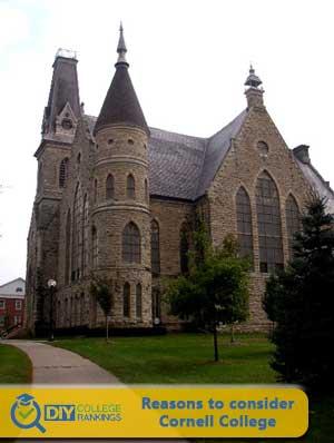 Cornell College campus