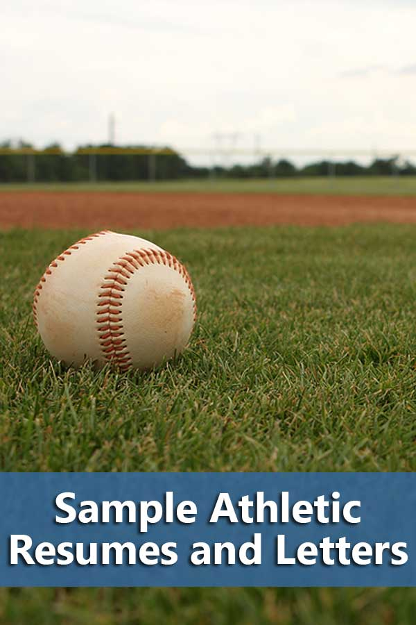 Most comprehensive listing of sample athletic resume and cover letters along with general recruiting guides for playing in college. #GetRecruited