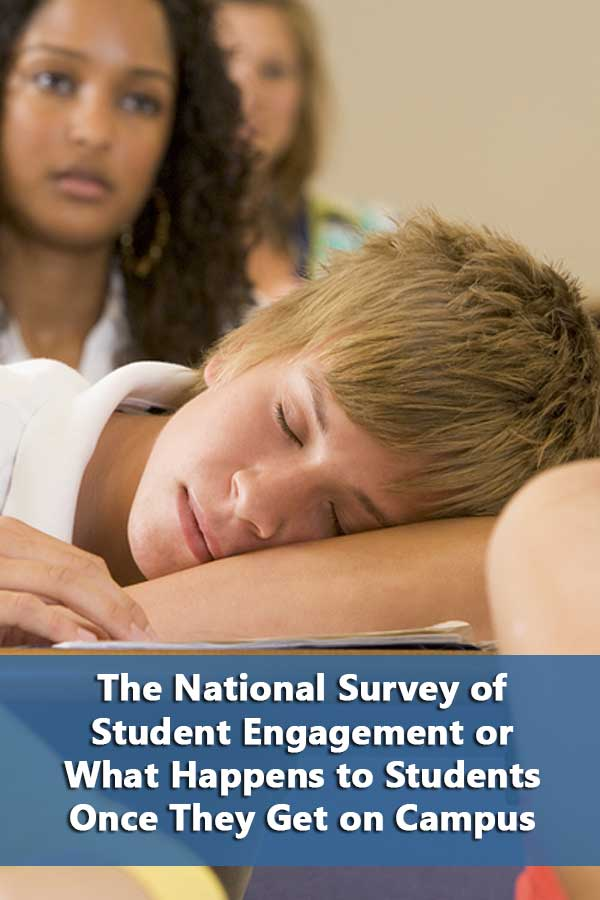 How to look for best colleges using information from  the National Survey of Student Engagement (NSSE).