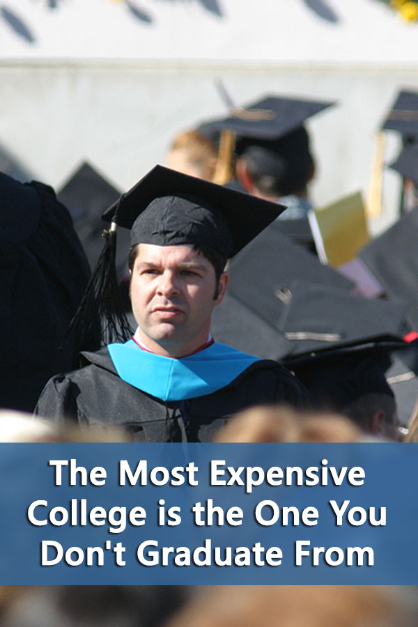 There are over 1,500 four-year colleges in the United States. If you have the choice between two where all other factors being equal, why wouldn\'t you pick the one with the higher graduation rate?