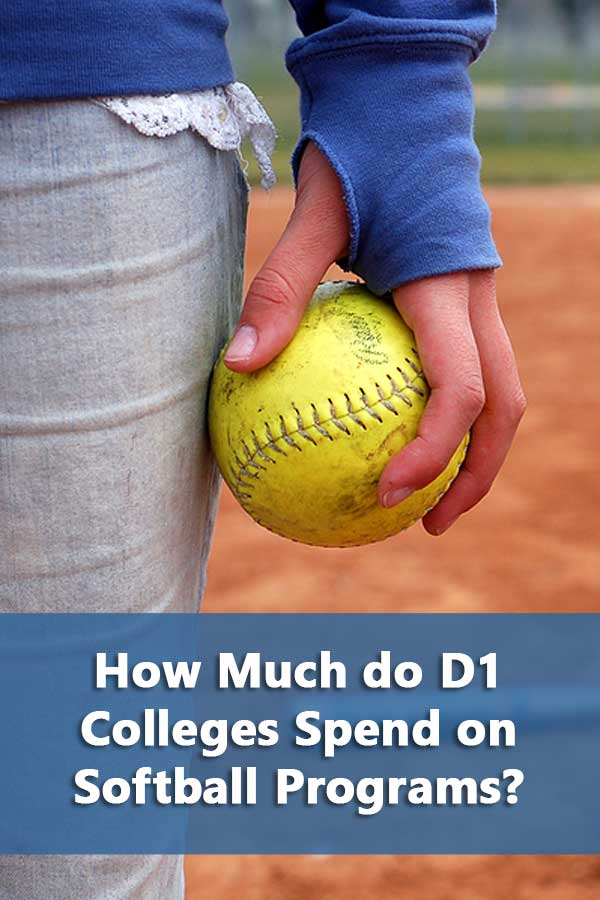 Ranking of D1 colleges spending on softball programs based on expenses. #GetRecruited