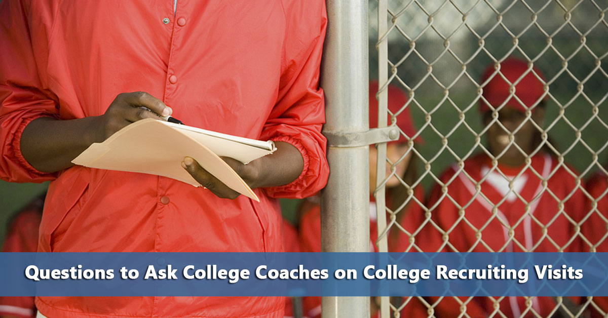 sample letters for college sports recruiting