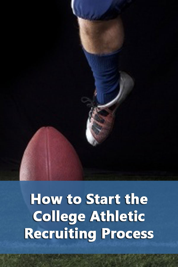 Resources on how to start the college athletic recruiting process.