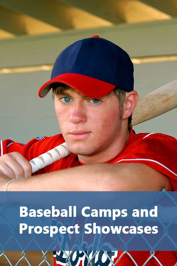 Listing of baseball camps, showcases, and combines along with calendar for baseball college recruiting. #GetRecruited