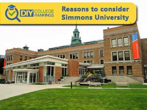 Simmons University campus