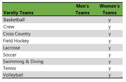 Simmons University athletic teams