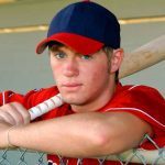 high school baseball player not worrying about recruiting