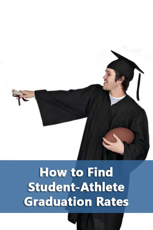How to find student-athlete graduation rates at the college level and explains the difference between GSR and FGR rates . #GetRecruited