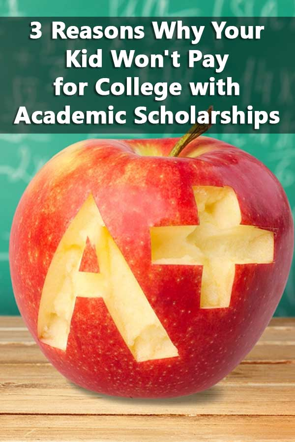 There are 3 common situations where students aren't going to qualify for enough academic scholarships to pay for college.
