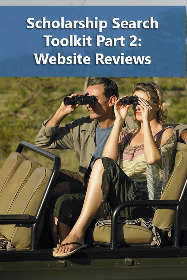 Reviews scholarship websites for usability and user privacy. Include recommendations on which websites to use to start your scholarship search.