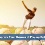 Pitcher throwing representing 9 ways to improve your chances of playing college baseball