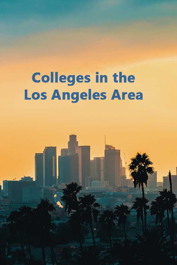 Colleges in Los Angeles that accept 50% of students and have at least a 50% graduation rate. #CollegeAdmissions