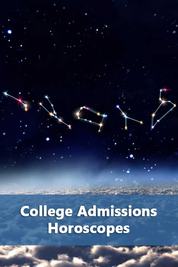 College admissions horoscopes for January 2019. Here\'s what you need to be doing after submitting all of those college applications. #CollegeAdmissions