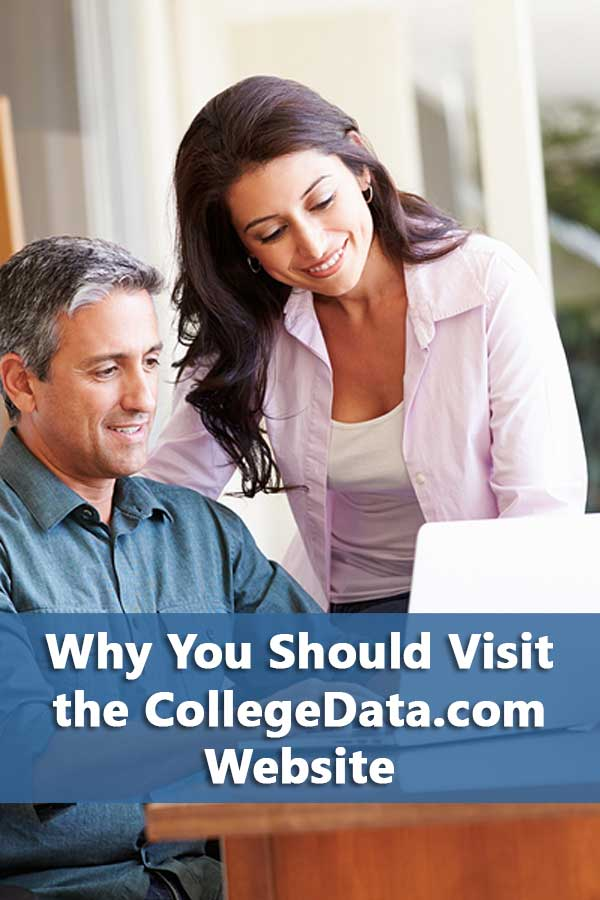Review of CollegeData.com website and easy steps to start using it effectively for creating your college list. #CollegeAdmissions