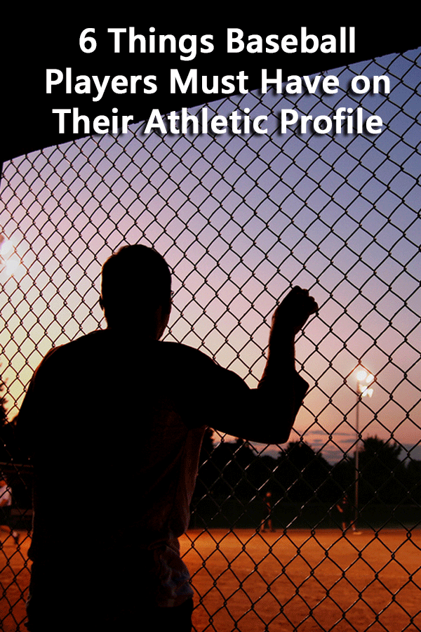 A list of everything that must be included in a high school player profile with a specific focus on baseball. #GetRecruited