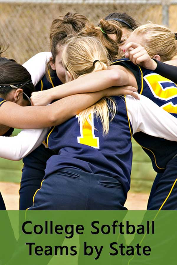 Use the college softball programs by state listing to find colleges at your competitive level most likely to recruit you to play. #GetRecruited