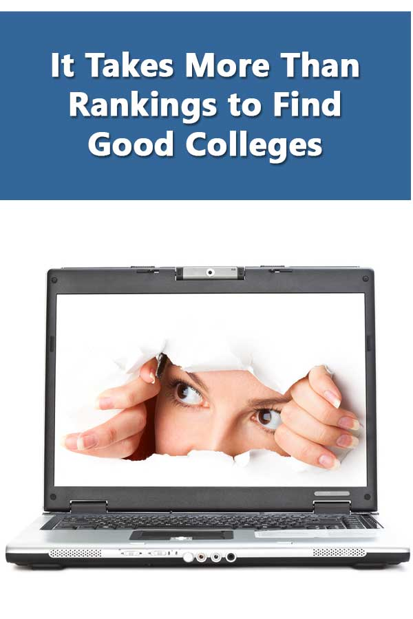 How to find good colleges by focusing on what the college does to help students graduate and succeed. #CollegeAdmissions