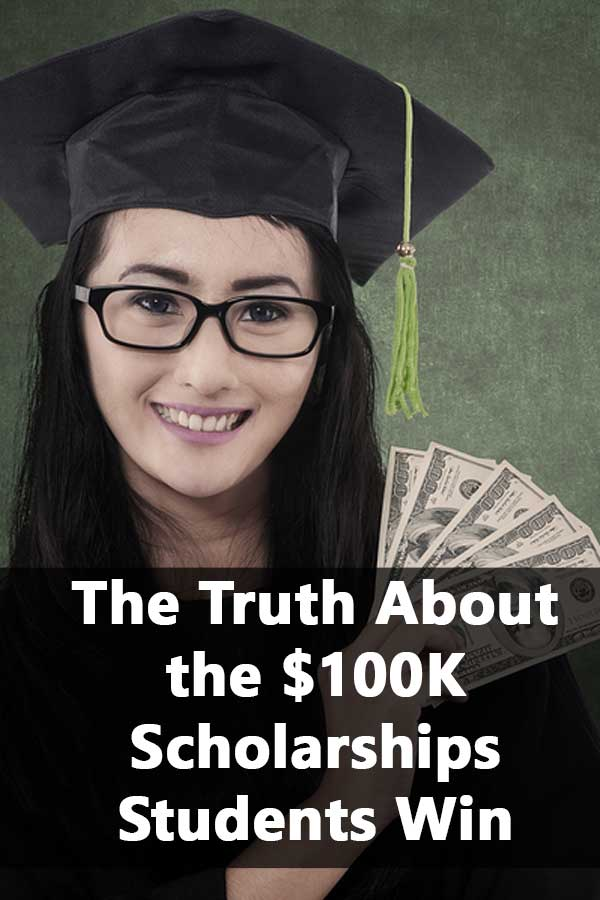 Have you heard about the student who won over $700,000 in scholarships? Here\'s the truth about how he actually did it.